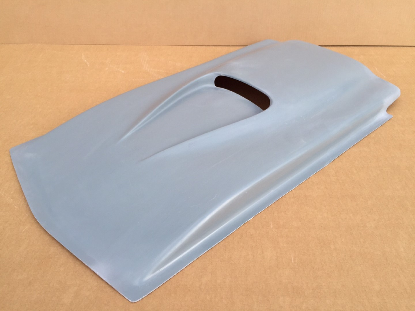 how to make a cowl hood scoop